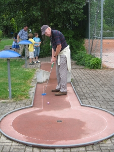 Family-Day Minigolf 2011
